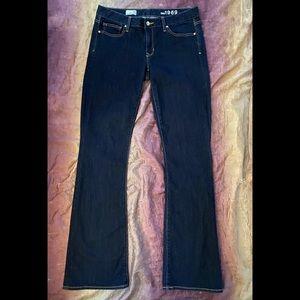 New Gap 1969 Curvy Bootcut Dark Wash Jeans Long